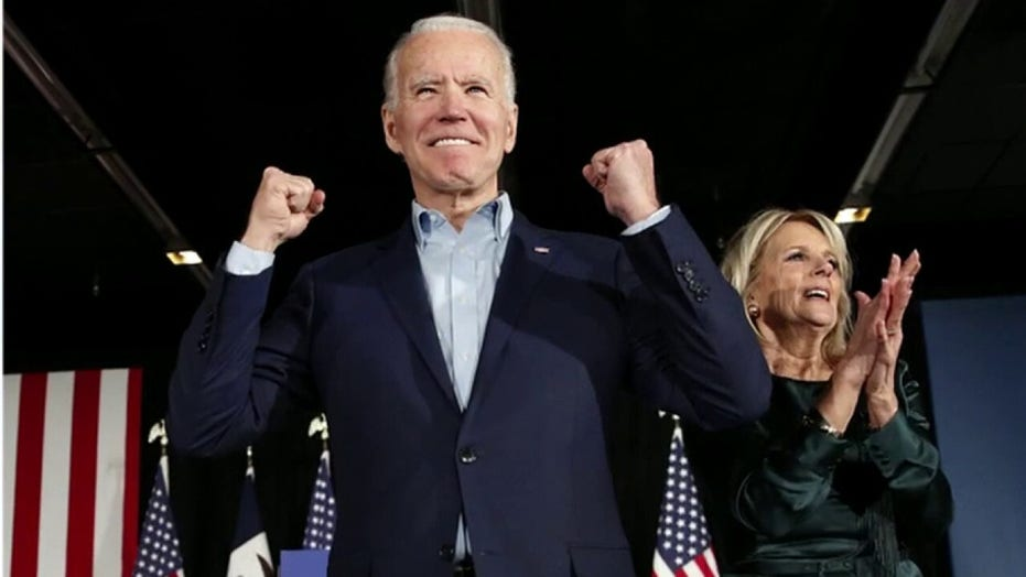 Joe Biden a 'political pawn' for left, he's 'dangerous for America': David Webb