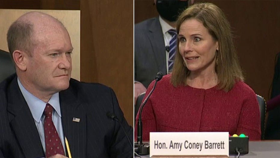 Amy Coney Barrett faces pressure during hearing, responds with grace and poise, experts say