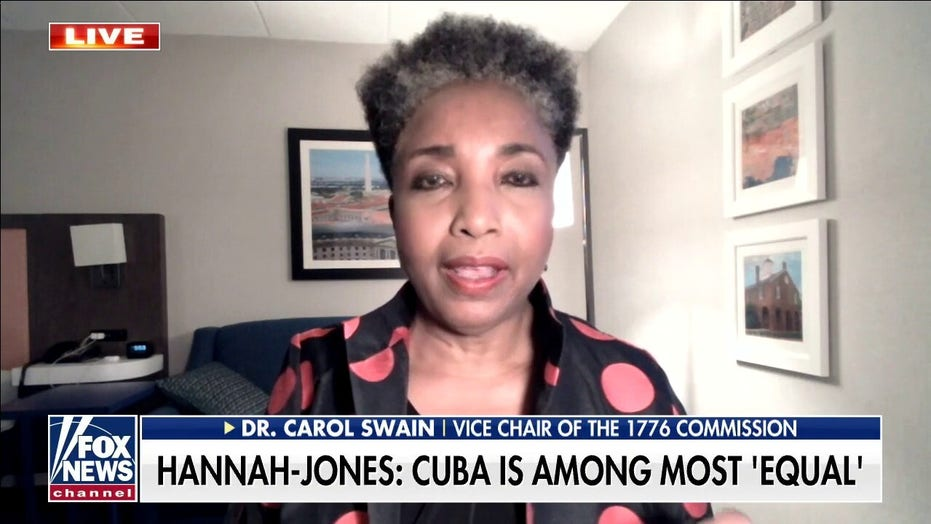 Cuban exile leader says 1619 Project founder's praise for socialism is 'abusive of Cubans' and their history