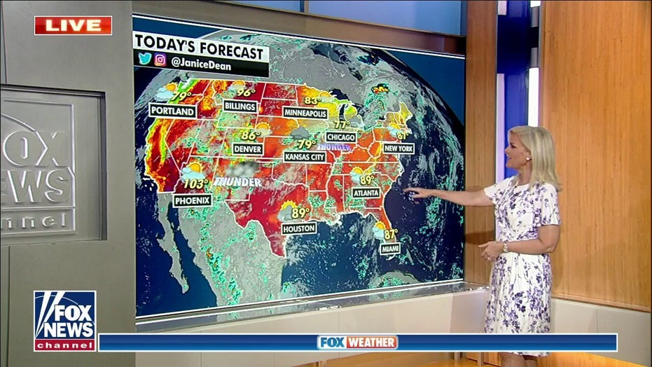 Flooding threatens Four Corners region, heavy rain possible over Midwest and Plains