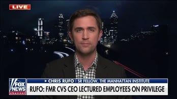 Chris Rufo discusses alleged mandatory antiracism training at CVS on 'Fox News Primetime'