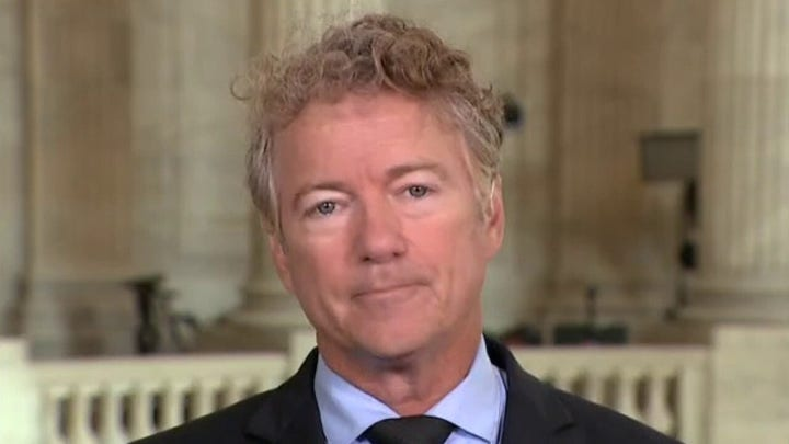 Sen Rand Paul blasts Blinken's second day of Afghan exit testimony as 'insulting'