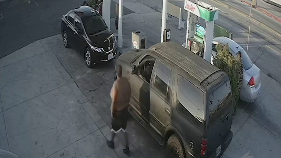 California woman beaten at gas station pump in apparent random attack, police say