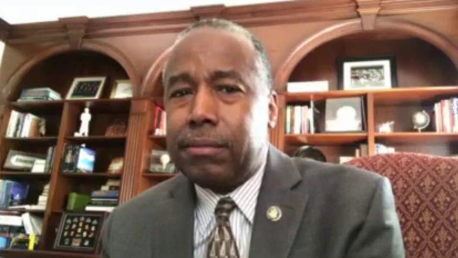 Ben Carson addresses anger over George Floyd's death