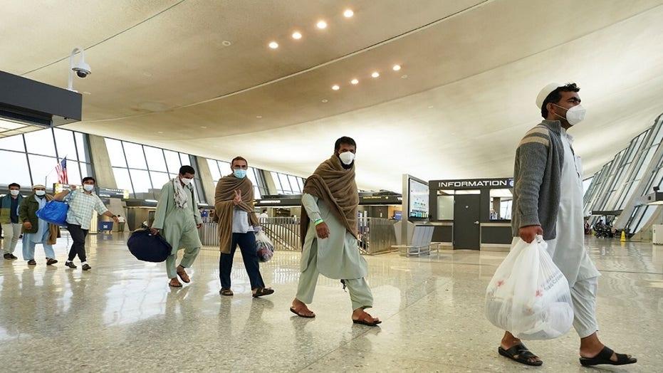 Exclusive look at Afghan refugee screening process in Europe
