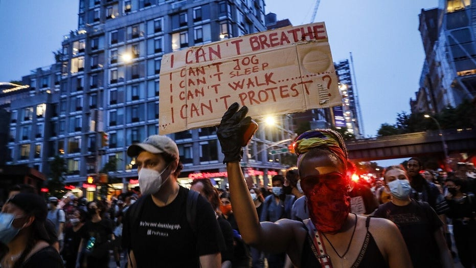 Thousands of protesters break curfew in NYC as state opens investigation into Buffalo shoving incident