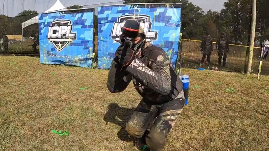 Finance executive ditches corporate America to play professional paintball
