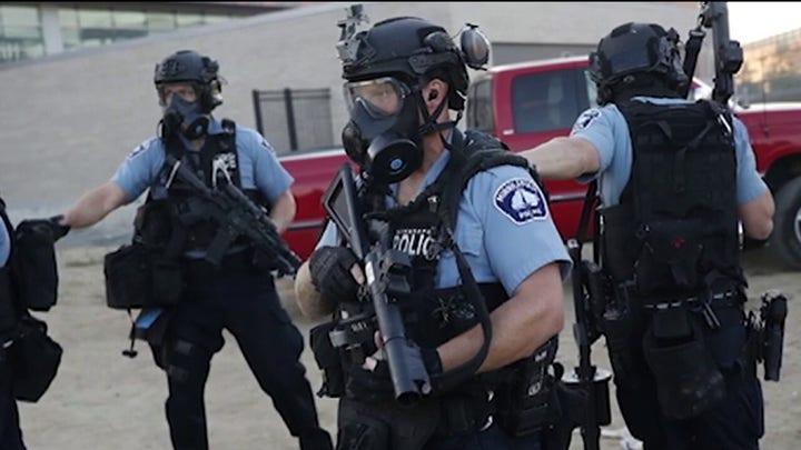 Law enforcement prepping for violent protests after election