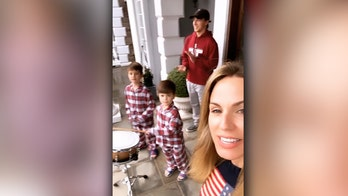 Dr. Nicole Saphier and family support first responders from New Jersey home