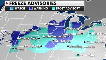 Rain across the East, possible first snow of the season in the West