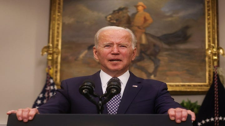 Lawmakers call for impeachment over Biden's handling of Afghanistan crisis