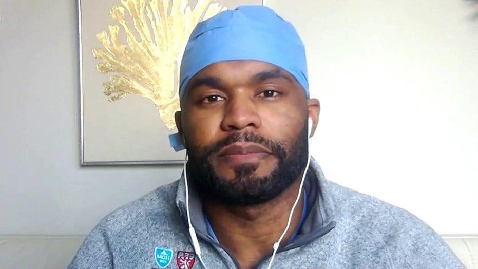 Former NFL player turned doctor fighting coronavirus on the frontlines