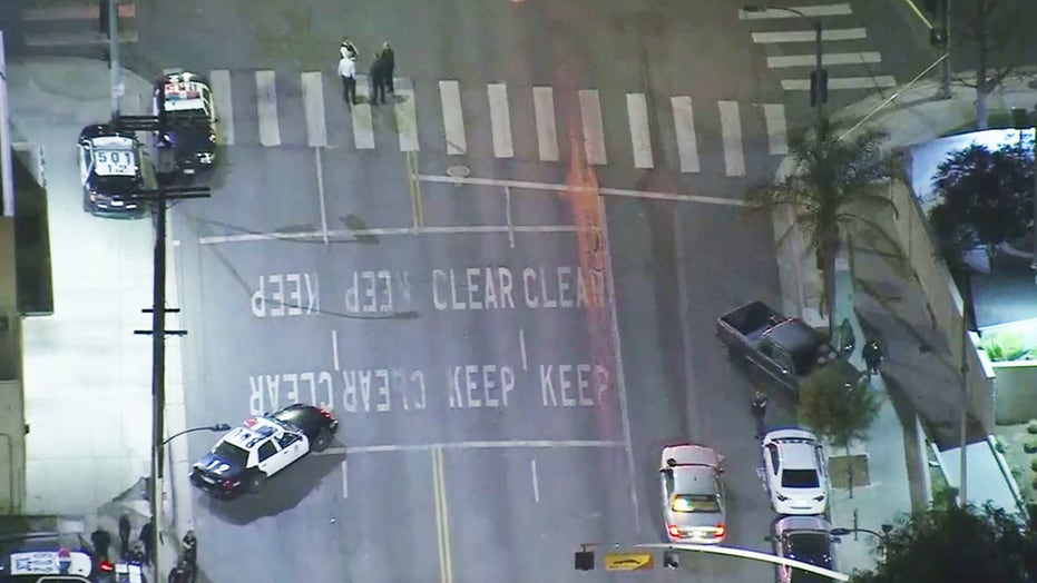 Officer shot in South Los Angeles