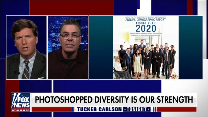 ODNI issues diversity report with doctored stock images