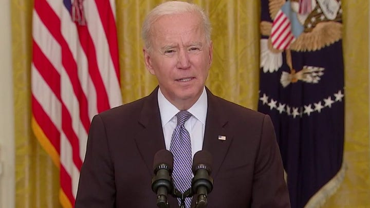 Biden attempts to ease mask confusion: 'that's a decision they can make'