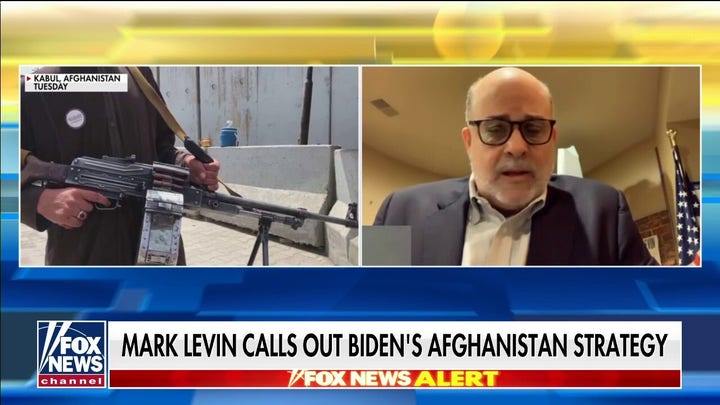 Mark Levin torches 'disastrous' Afghan withdrawal by Biden: Send our troops in and get our people out