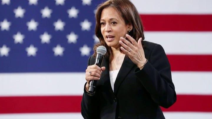 Sen. Kamala Harris endorses Joe Biden in video message
