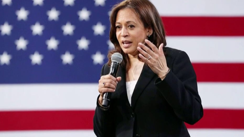 Sen. Kamala Harris endorses Joe Biden in video message