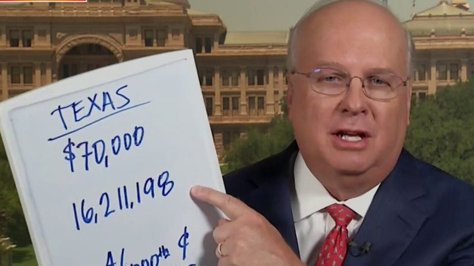 Karl Rove: Why Biden making a play for Texas is a 'smart move'