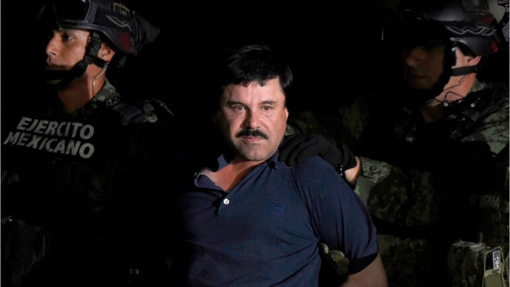 New video of Mexican drug lord 'El Chapo' in prison