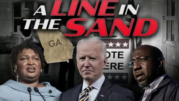 Ingraham: Left spreads poisonous lies about Georgia voting bill