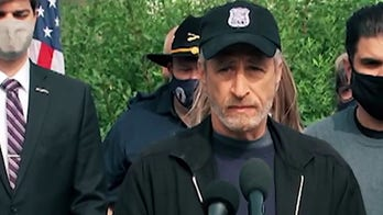 Jon Stewart back in Washington in new fight for veterans looking for burn pit relief