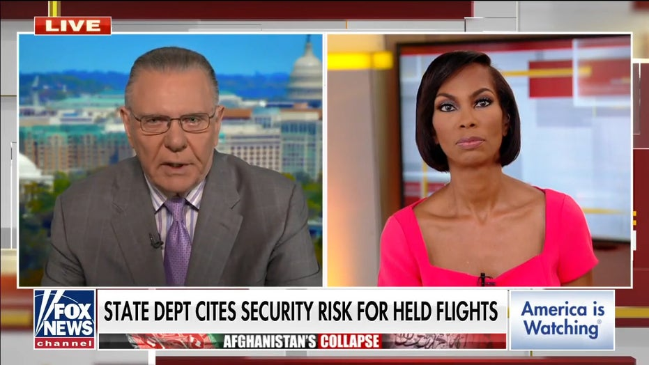 Gen. Keane blasts State Dept for blocking Afghanistan evacuations: 'This is an absurdity'