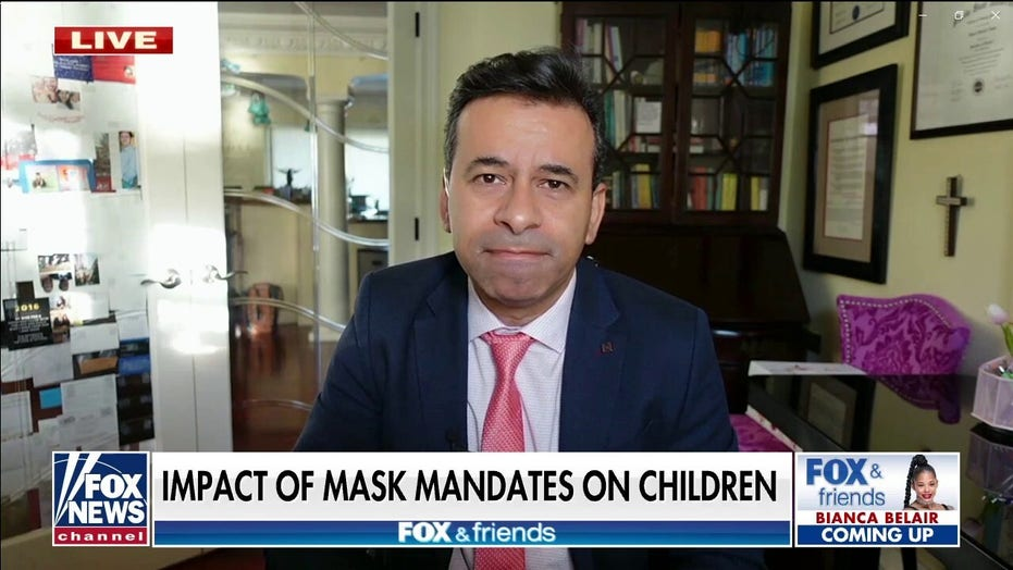 Dr. Makary: 'There is no data' to support Fauci's call for masking small children