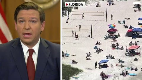 Florida Governor separates: 'Other states wish they did what we did'
