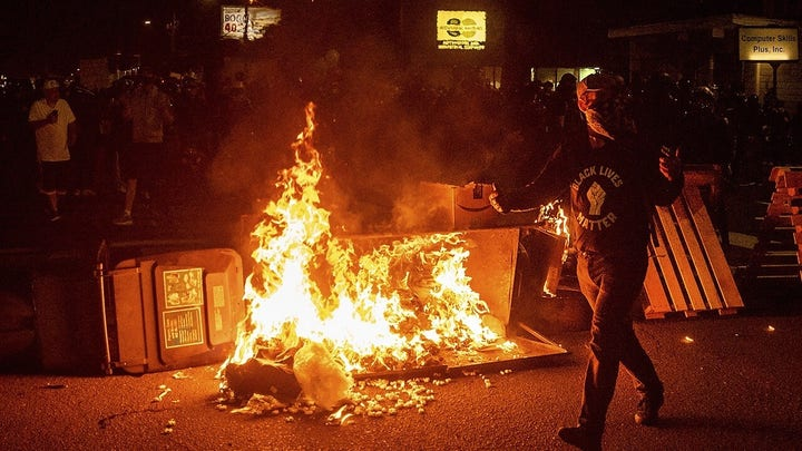 100 days and counting? Portland unrest continues