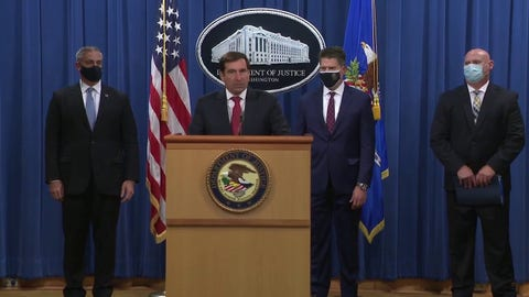DOJ announces charges against Russian military hackers for global cyberattacks