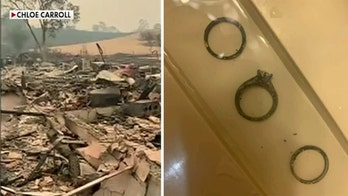 California family finds wedding rings in rubble of burned down home