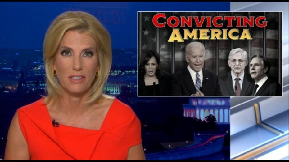 Ingraham: Left's goal isn't justice, it's revolution; they want to 'convict America'