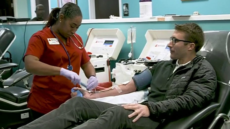 Red Cross says US facing 'severe' shortage of blood