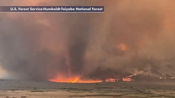 Fire whirls spotted in California's Slink Fire