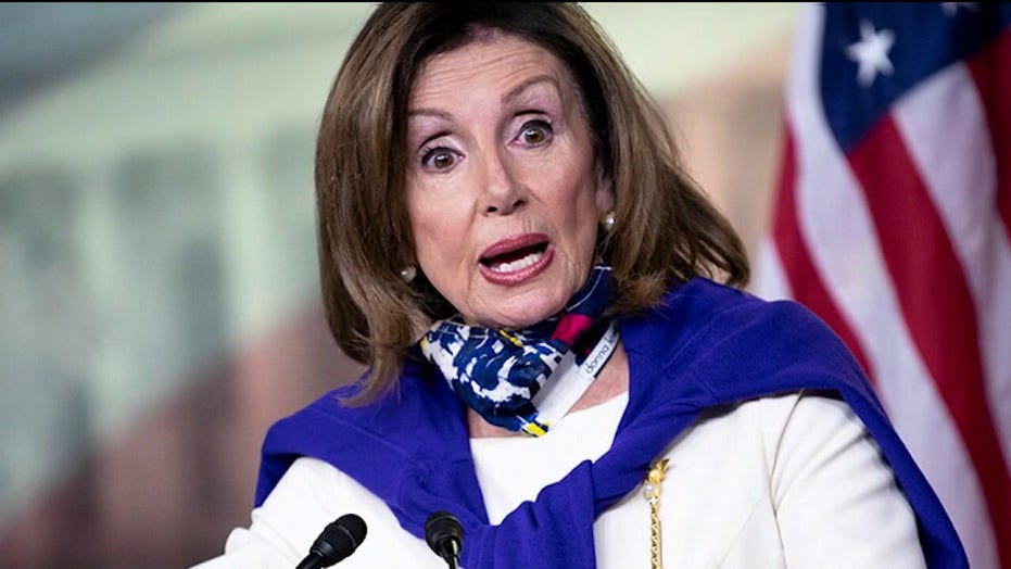 Pelosi on reason for shift to supporting smaller coronavirus relief: 'New president'