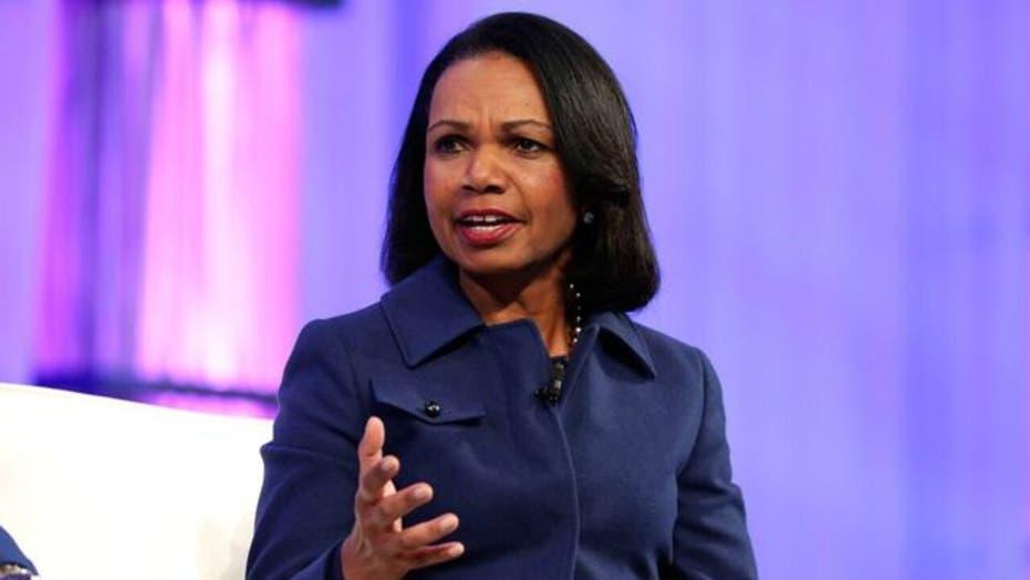 Condoleezza Rice pokes fun at Democrats during Al Smith Memorial Foundation Dinner speech