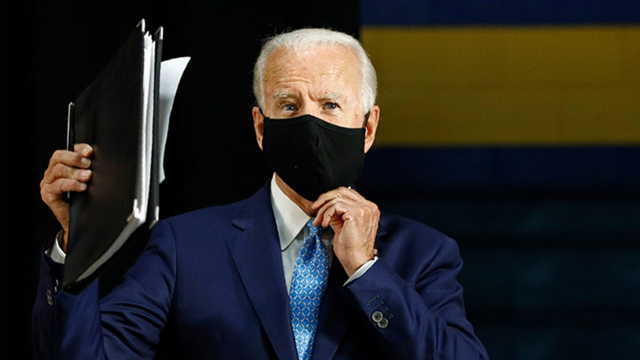 Biden on COVID-19: It seems like our wartime president has surrendered and left the battlefield