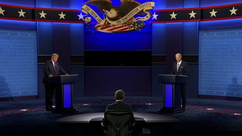WATCH IN FULL: First Presidential Debate moderated by Chris Wallace