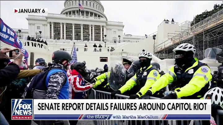 Senate report on Jan. 6 attack finds Capitol Police failed to relay threat
