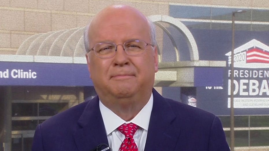 Biden fact-checking Trump at presidential debate could be a mistake, Rove says