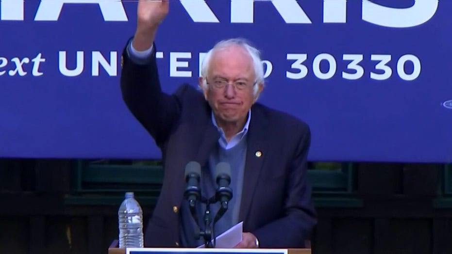 Bernie Sanders blasts 'corporate Democrats' for attacking progressive policies