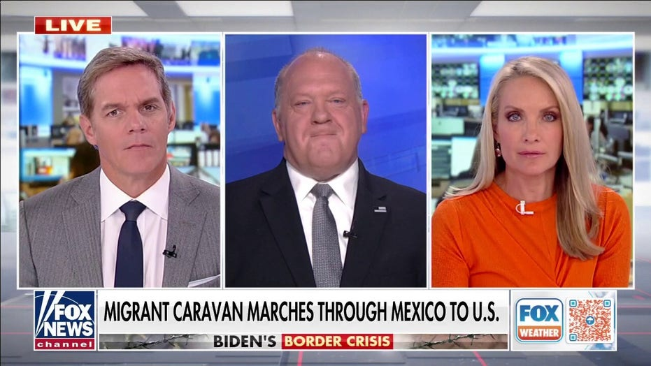 Tom Homan: Biden, Mayorkas should be impeached for 'intentionally unsecured' border