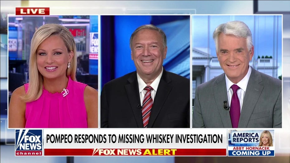 Pompeo says he never saw missing whisky, hints State Department incompetence