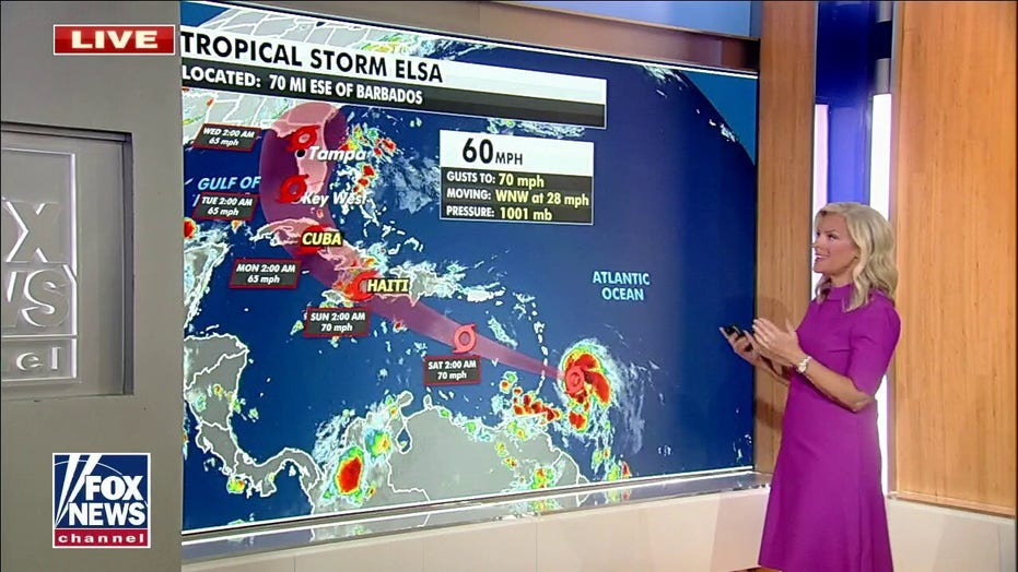 National weather forecast for July 2