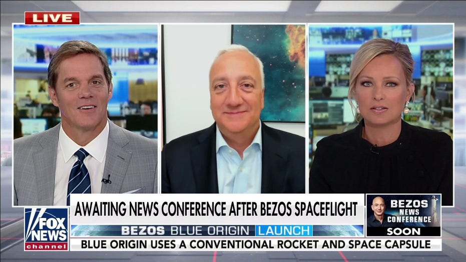 Tulsi Gabbard tweets that Bezos should 'stay up there' in space