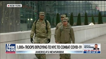 1,000 military medical personnel deployed to NYC to fight COVID-19