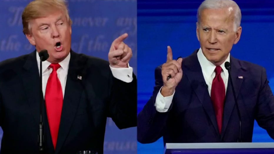 Biden campaign commits to three socially distanced debates with President Trump
