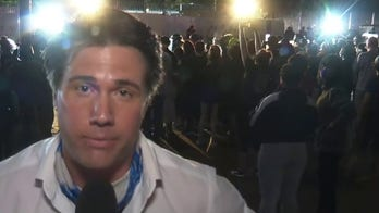 Fox News crew chased, attacked by angry mob while reporting on protests outside White House