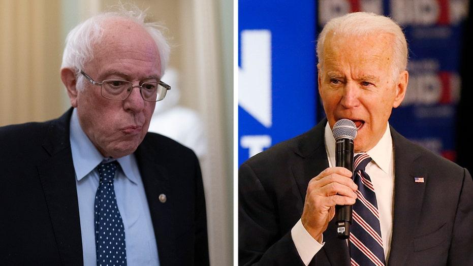 Joe Biden, Bernie Sanders battle for top spot in Iowa polls